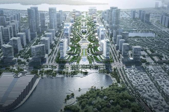 Có gì đặc biệt ở 5 phương án kiến trúc trung tâm hành chính mới của Hà Nội?